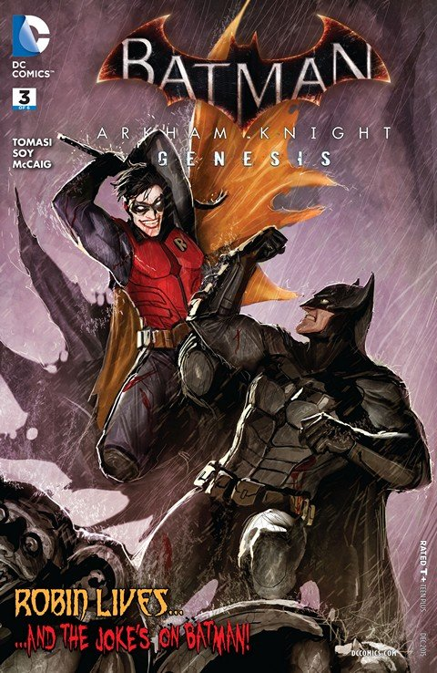 Batman – Arkham Knight – Genesis #3