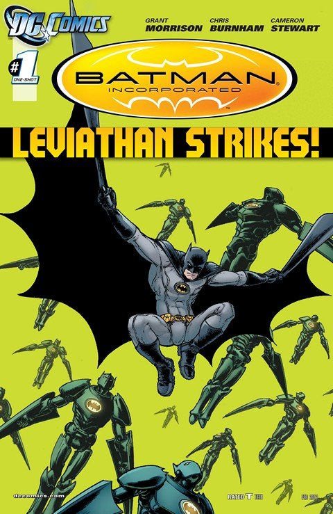 Batman Incorporated – Leviathan Strikes #1