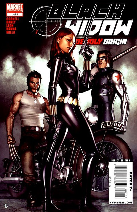 Black Widow – Deadly Origin #1 – 4