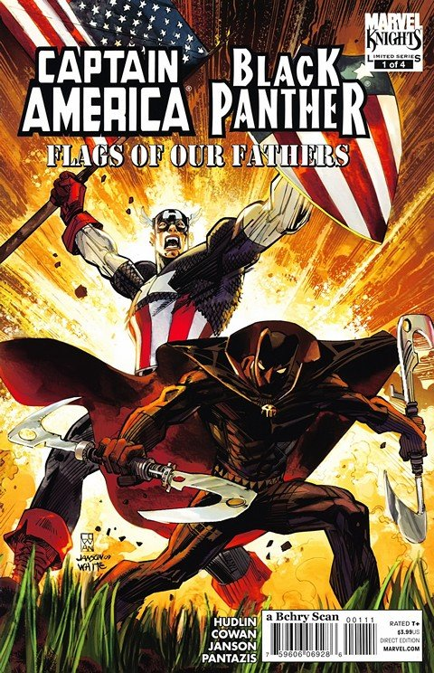 Captain America – Black Panther – Flags of our Fathers #1 – 4