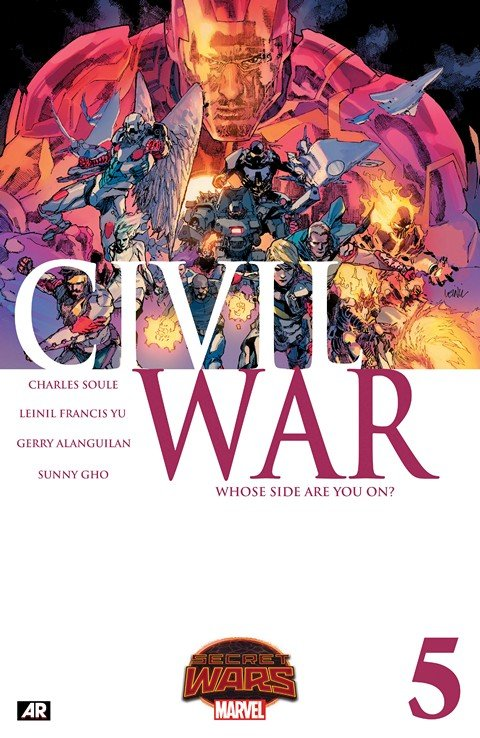 Civil War #1 – 5