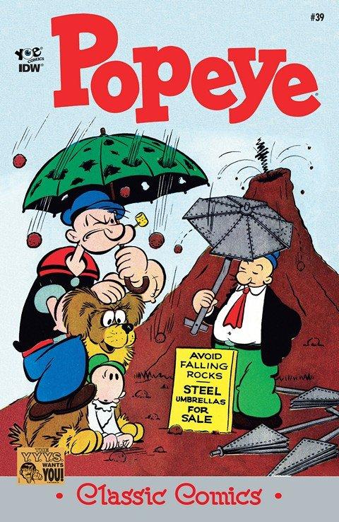 Classic Popeye #39