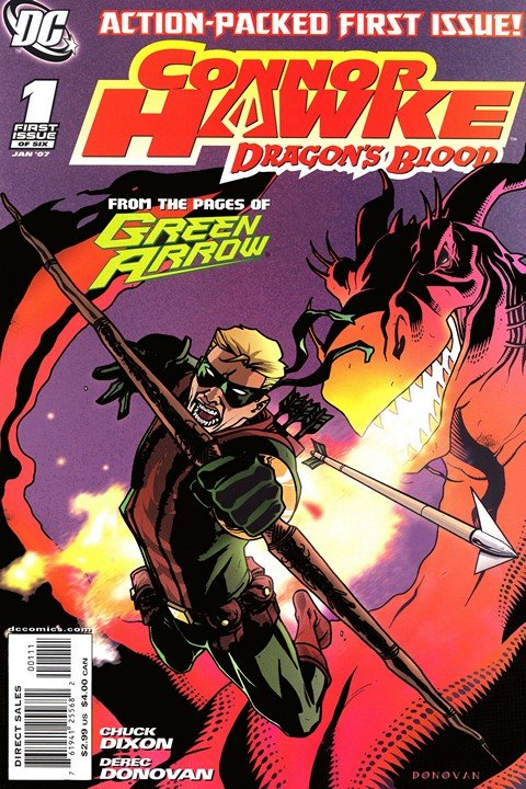 Connor Hawke – Dragon's Blood #1 – 6