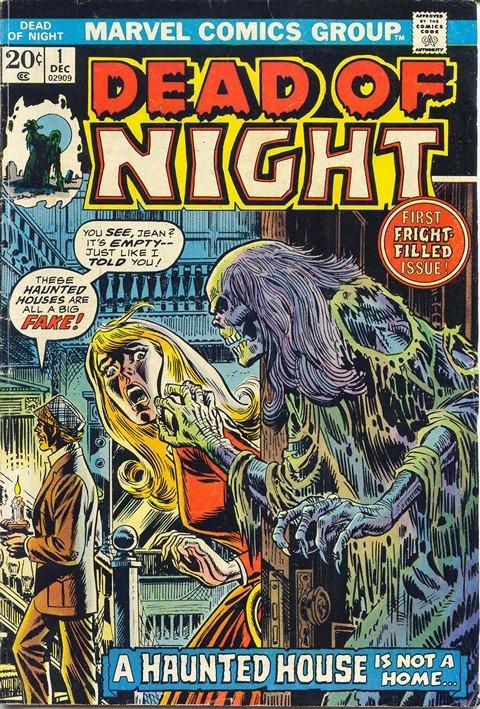 Dead of Night Vol. 1 #1 – 11 (1973-1975)