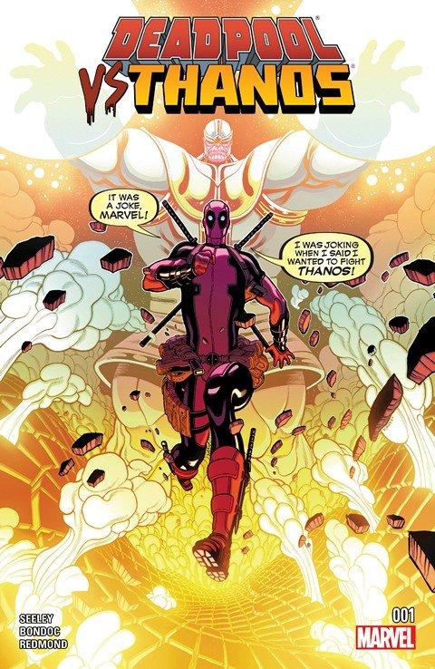 Deadpool vs. Thanos #1 – 4 + TPB (2015)