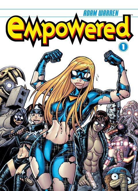 Empowered Vol. 1 – 9 + Unchained Vol. 1
