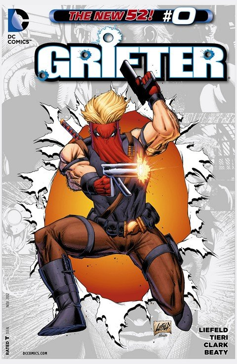 Grifter Vol. 1 – 3 + Extras – Inc. Team 7