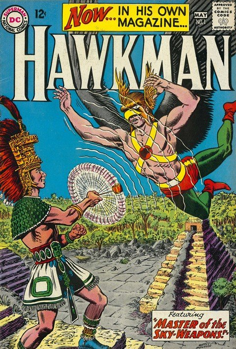 Hawkman Vol. 1 – 4 + Extras (Ultimate Collection) (1964-1968)