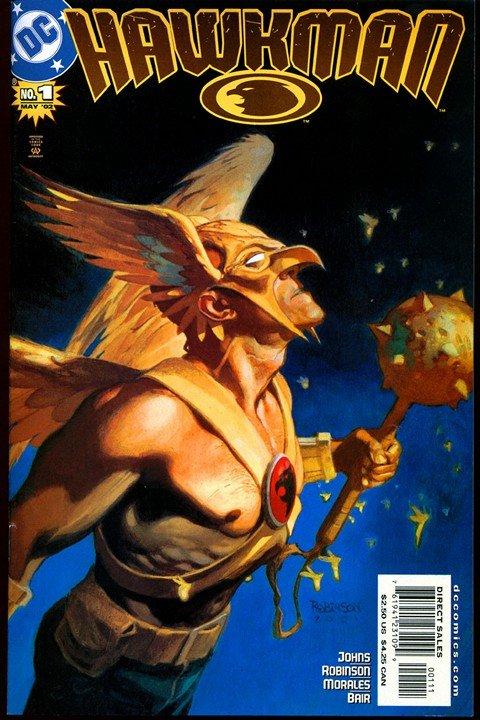 Hawkman Vol. 4 #1 – 49 + Hawkgirl #50 – 66 (2002-2006)