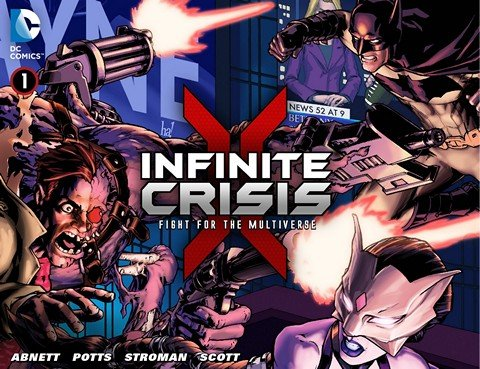 Infinite Crisis – Fight for the Multiverse #1 – 36