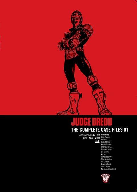 Judge Dredd – The Complete Case Files Vol. 1 – 33 (2009-2019)