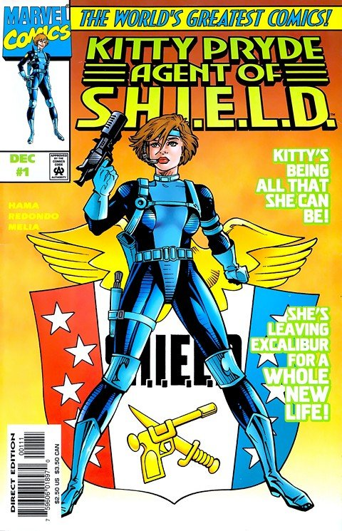 Kitty Pryde – Agent of Shield #1 – 3