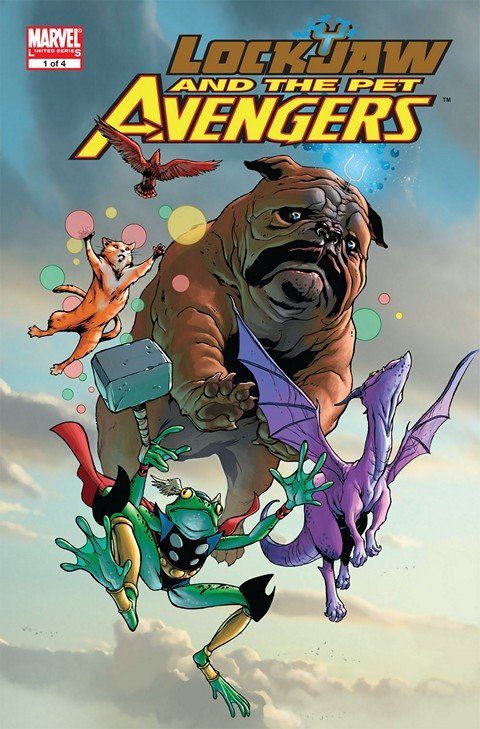 Lockjaw and the Pet Avengers #1 – 4