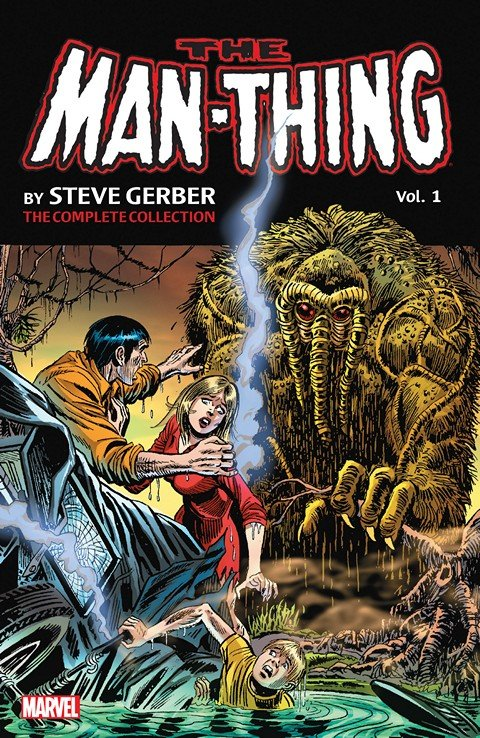 Man-Thing by Steve Gerber – The Complete Collection Vol. 1