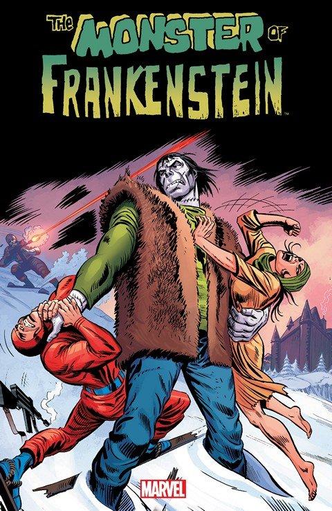 Monster Of Frankenstein (TPB)