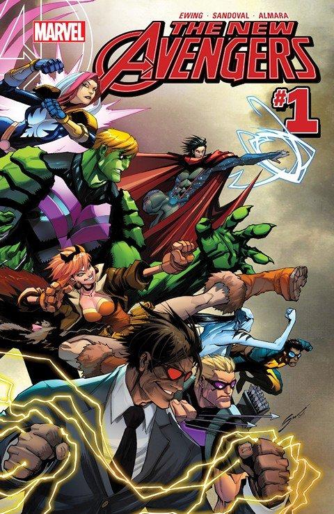 New Avengers Vol. 4 #1 – 18 (2015-2017)
