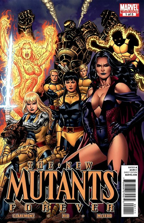 New Mutants Forever #1 – 5 (2010-2011)
