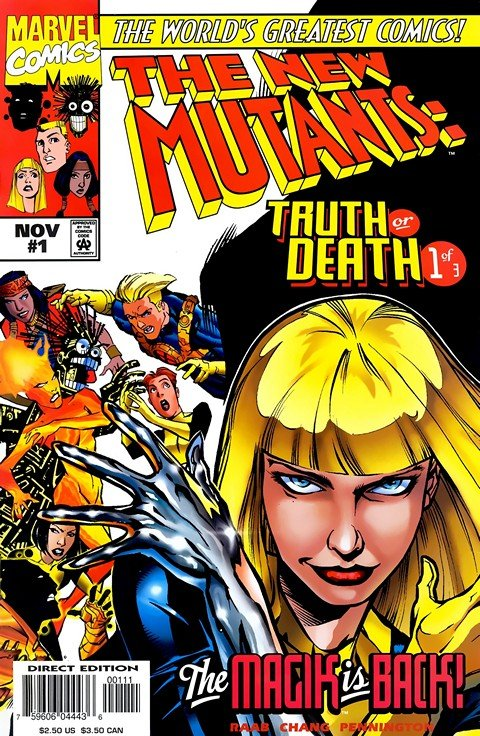 New Mutants – Truth or Death #1 – 3