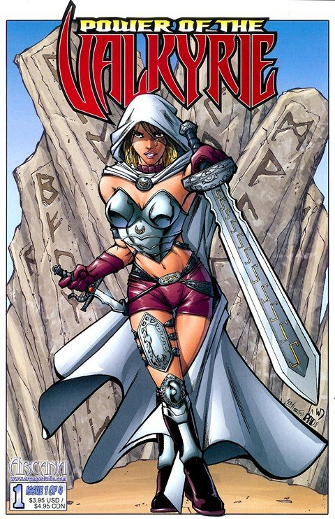 Power of the Valkyrie #1 – 4