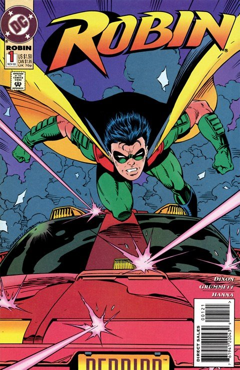Robin Vol. 4 #0 – 183 + 1,000,000 + Annuals + Extras (1993-2009)
