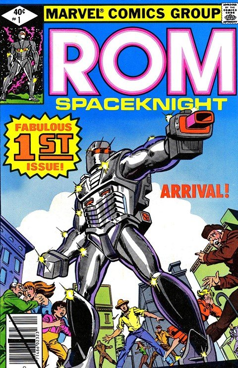 Rom The Spaceknight #1 – 75 + Annuals (1979-1986)