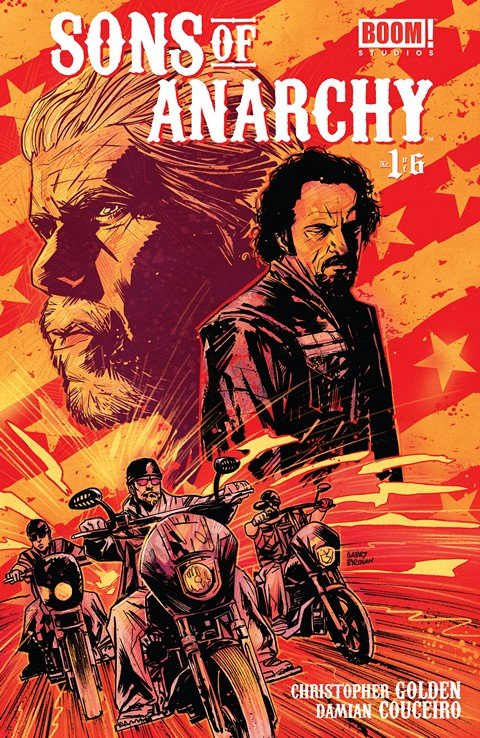 Sons of Anarchy #1 – 25 + TPB Vol. 1 – 2