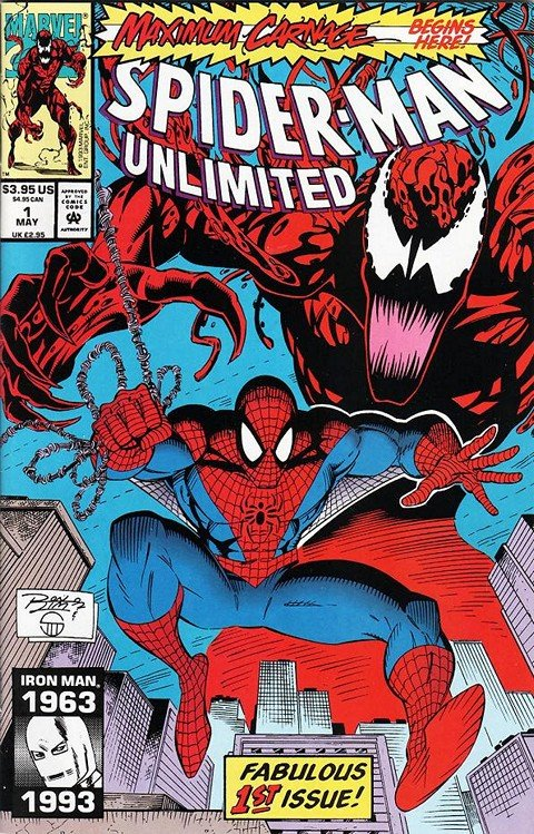 Spider-man Unlimited Vol. 1 – 3 (1993-2004)