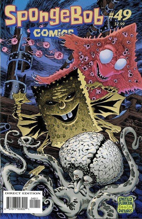 SpongeBob Comics #49