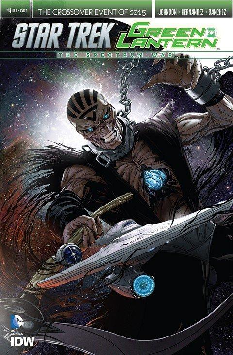 Star Trek Green Lantern The Spectrum Wars #4