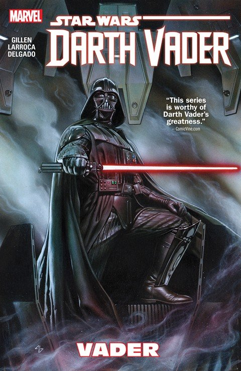 Star Wars – Darth Vader Vol. 1 – 4+ (TPB) (2015-2016)