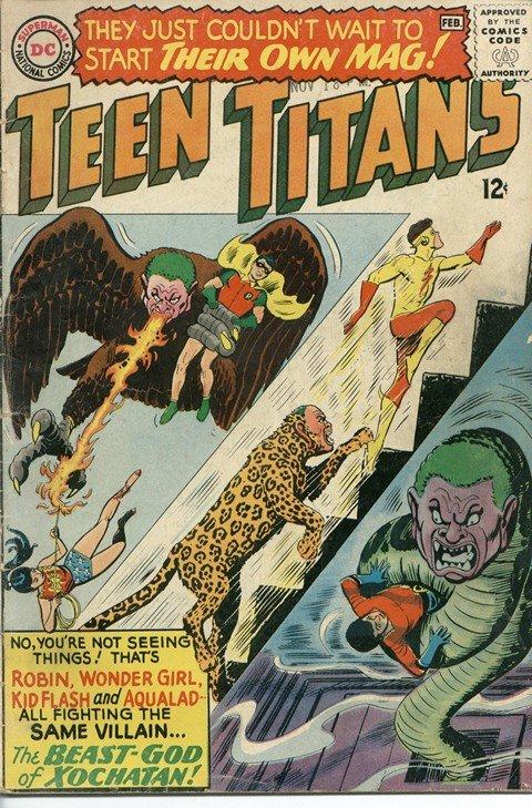 Teen Titans Vol. 1 #1 – 53 (1966-1978)
