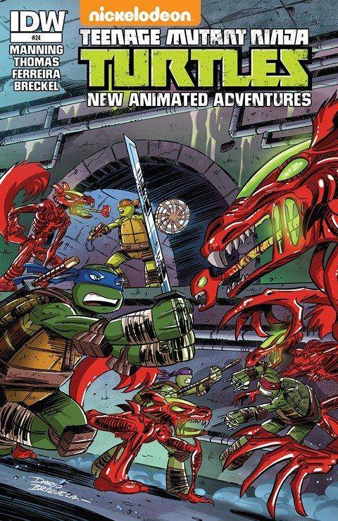 Teenage Mutant Ninja Turtles – New Animated Adventures #1 – 24 + FCBD