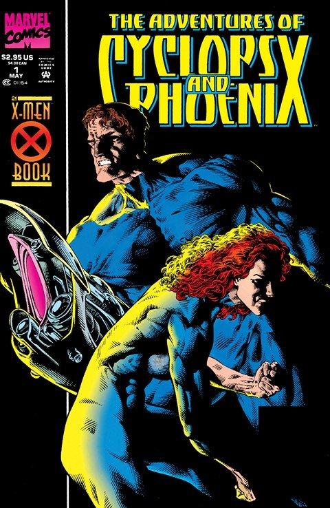 The Adventures of Cyclops and Phoenix #1 – 4