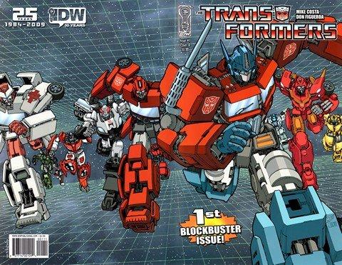 Transformers #1 – 31 + Extras (2009)