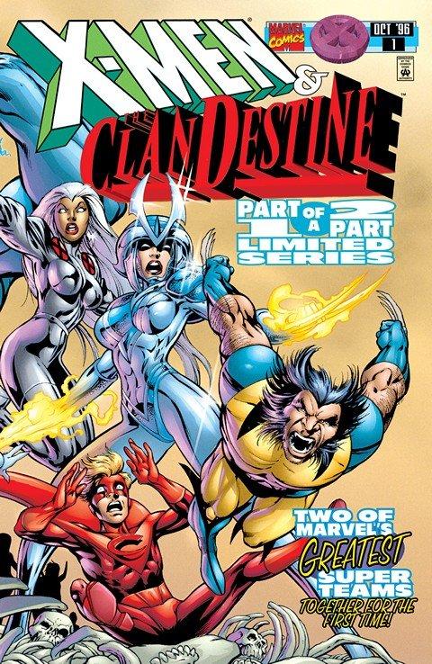 X-Men – ClanDestine #1 – 2 (1996)