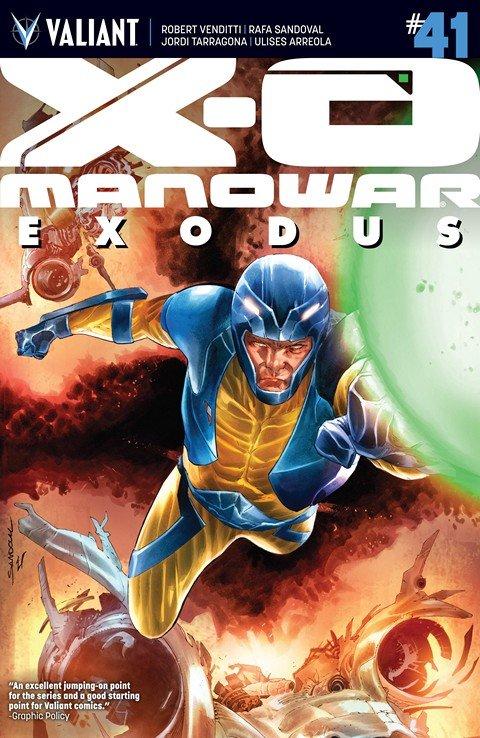 X-O Manowar #41