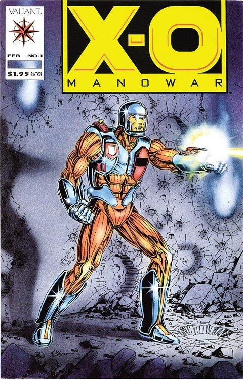 X-O Manowar Vol. 1 – 3 + TPB + Extras (1992-2016)