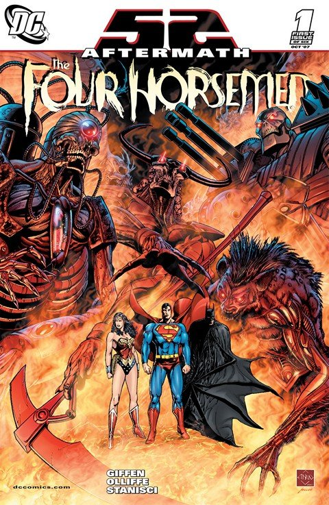 52 Aftermath – The Four Horsemen #1 – 6