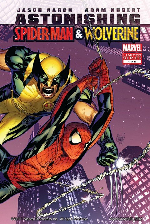 Astonishing Spider-Man & Wolverine #1 – 6