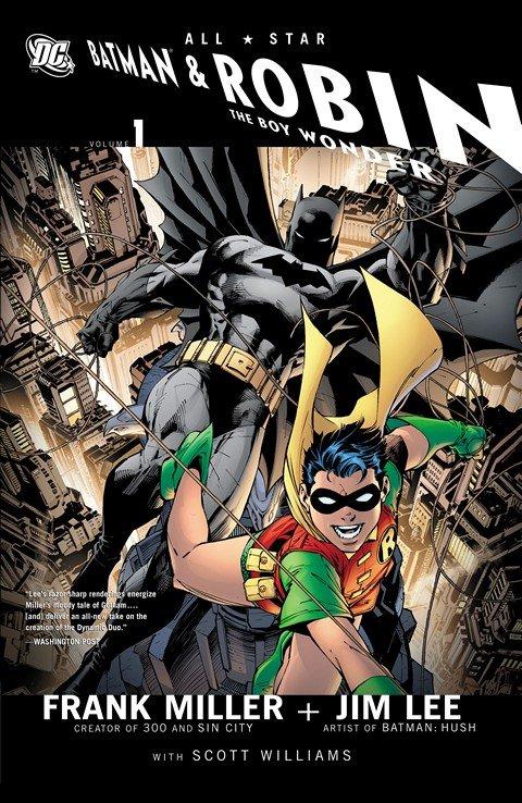 All-Star Batman and Robin, The Boy Wonder #1 – 10 + TPB Vol. 1 (2005-2008)