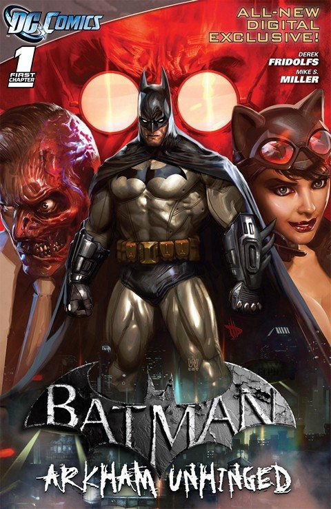 Batman – Arkham Unhinged #1 – 58