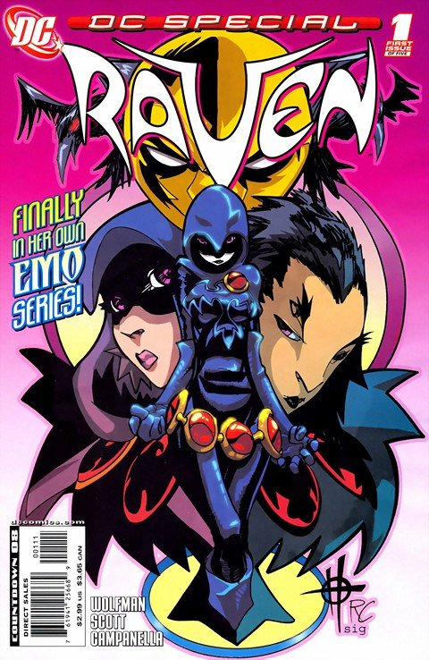 DC Special-Raven #1 – 5