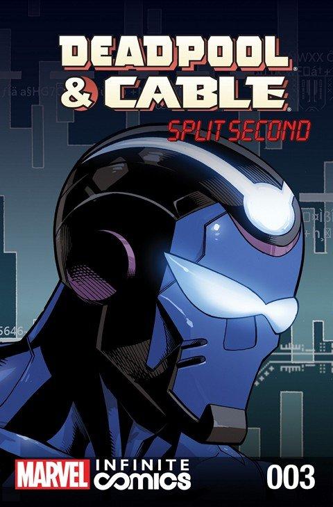 Deadpool & Cable – Split Second Infinite Comic #3