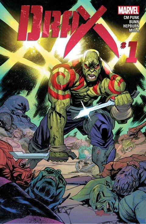 Drax #1 – 11 + TPBs (2015-2016)