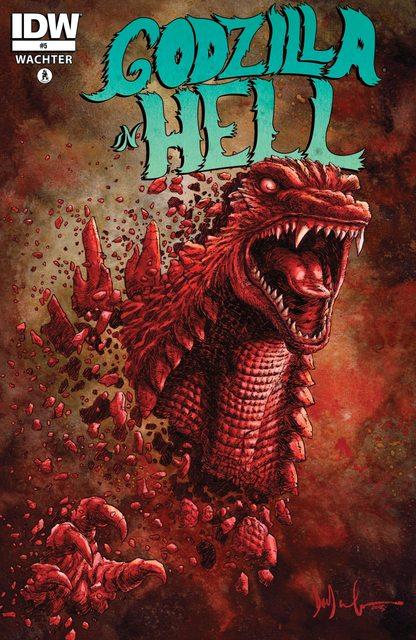 Godzilla In Hell #1 – 5