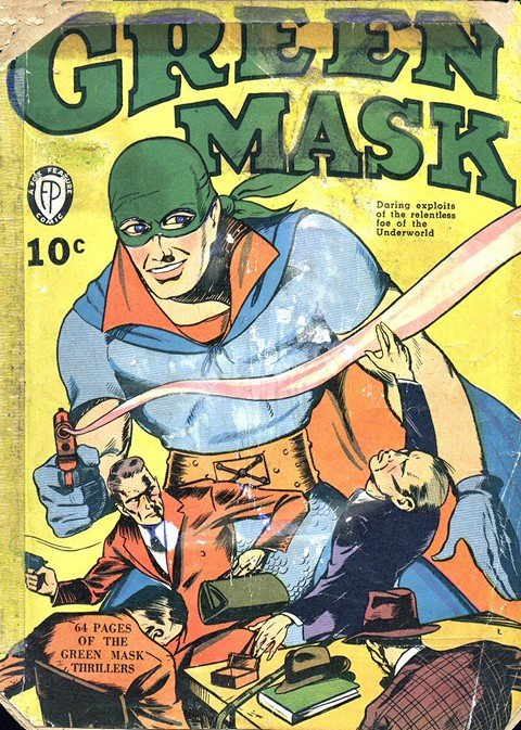 Green Mask Vol. 1 – 2