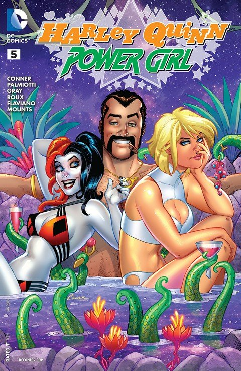 Harley Quinn and Power Girl #5