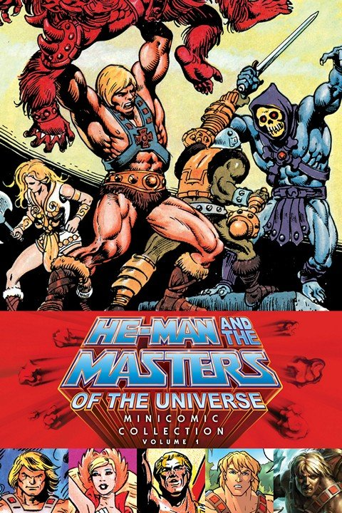 He-Man & Masters of Universe – Minicomic Collection Vol. 1 – 2