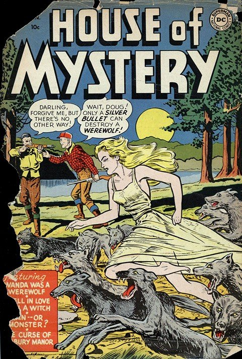 House of Mystery #1 – 321
