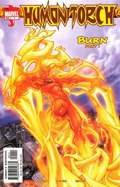Human Torch Vol. 1 – 3 + Extras (1940-2011)